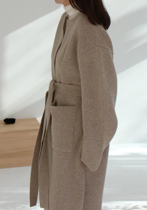 MILLENNIUM KNIT COAT (OATMEAL)