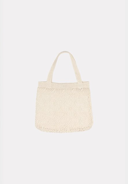 FLOWER KNIT BAG (MINI) BLACK - 6/10 입고예정