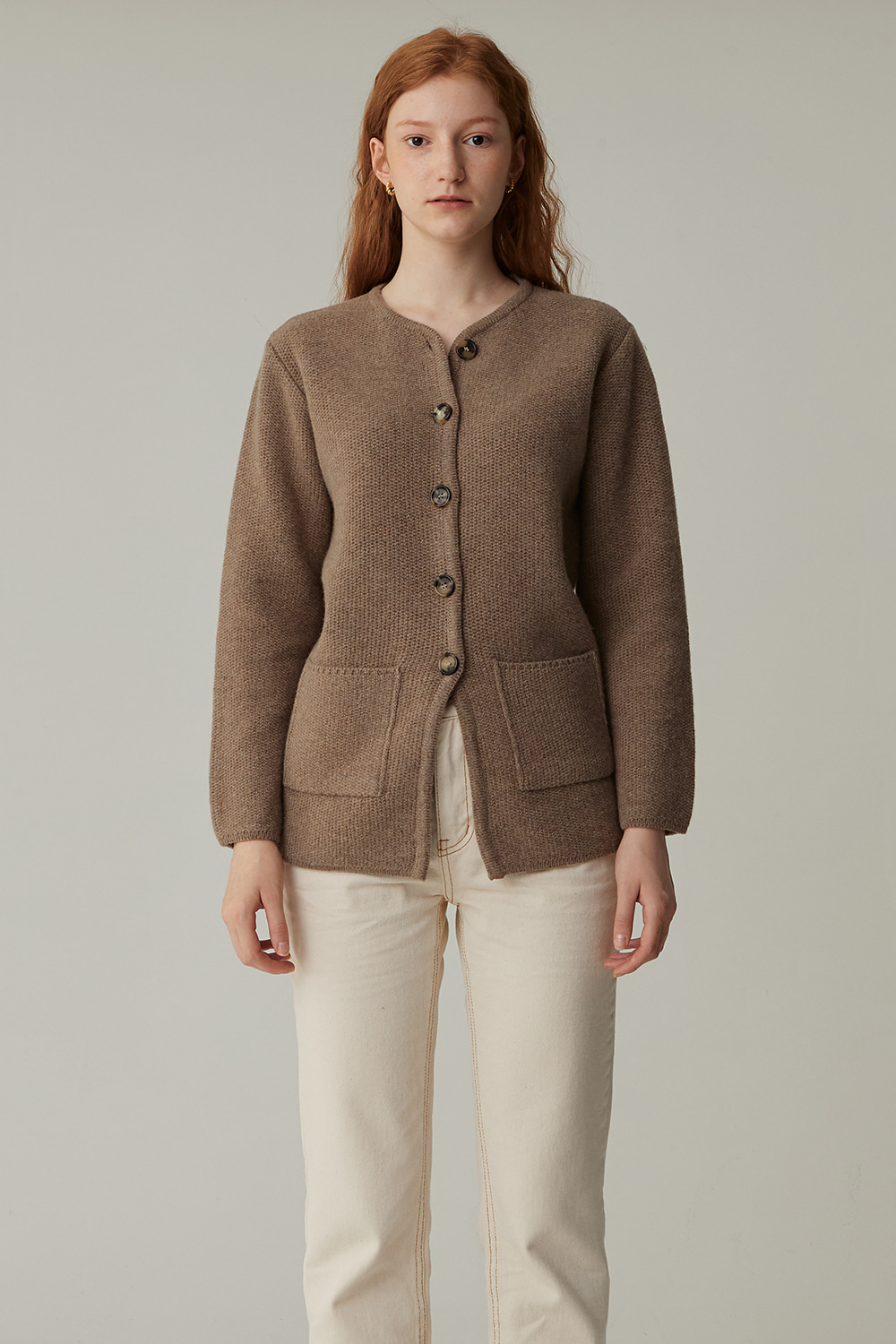 TURK WOOL JACKET(BEIGE)