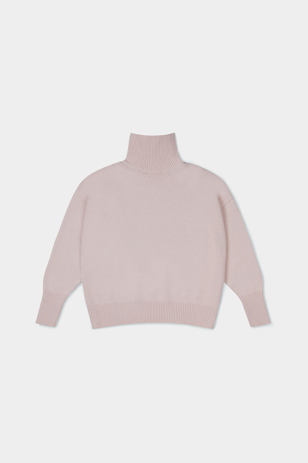 ROLL NECK KNIT (PASTA PINK)