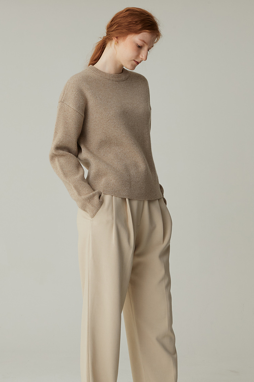 AIR WOOL KNIT (M/LINEN)