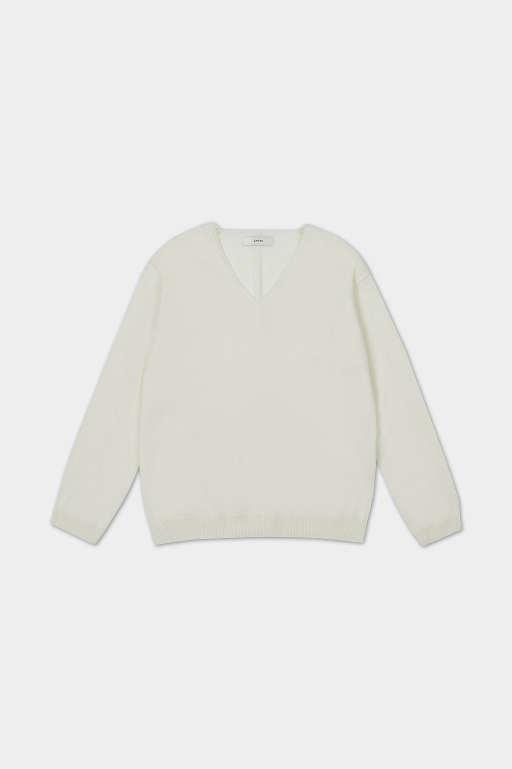 20FW CASHMERE BLENDED KNIT (IVORY) - 5COLOR
