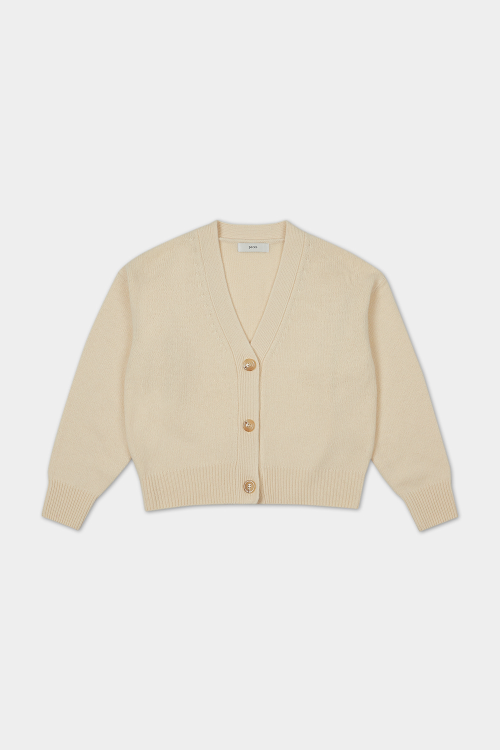 20FW CASHMERE BLENDED CARDIGAN (MARGARINE) - 3COLOR