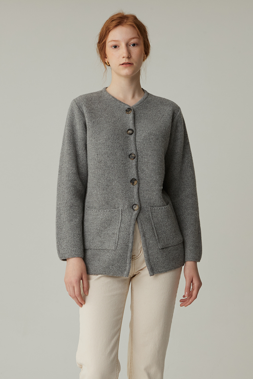 TURK WOOL JACKET(GRAY)
