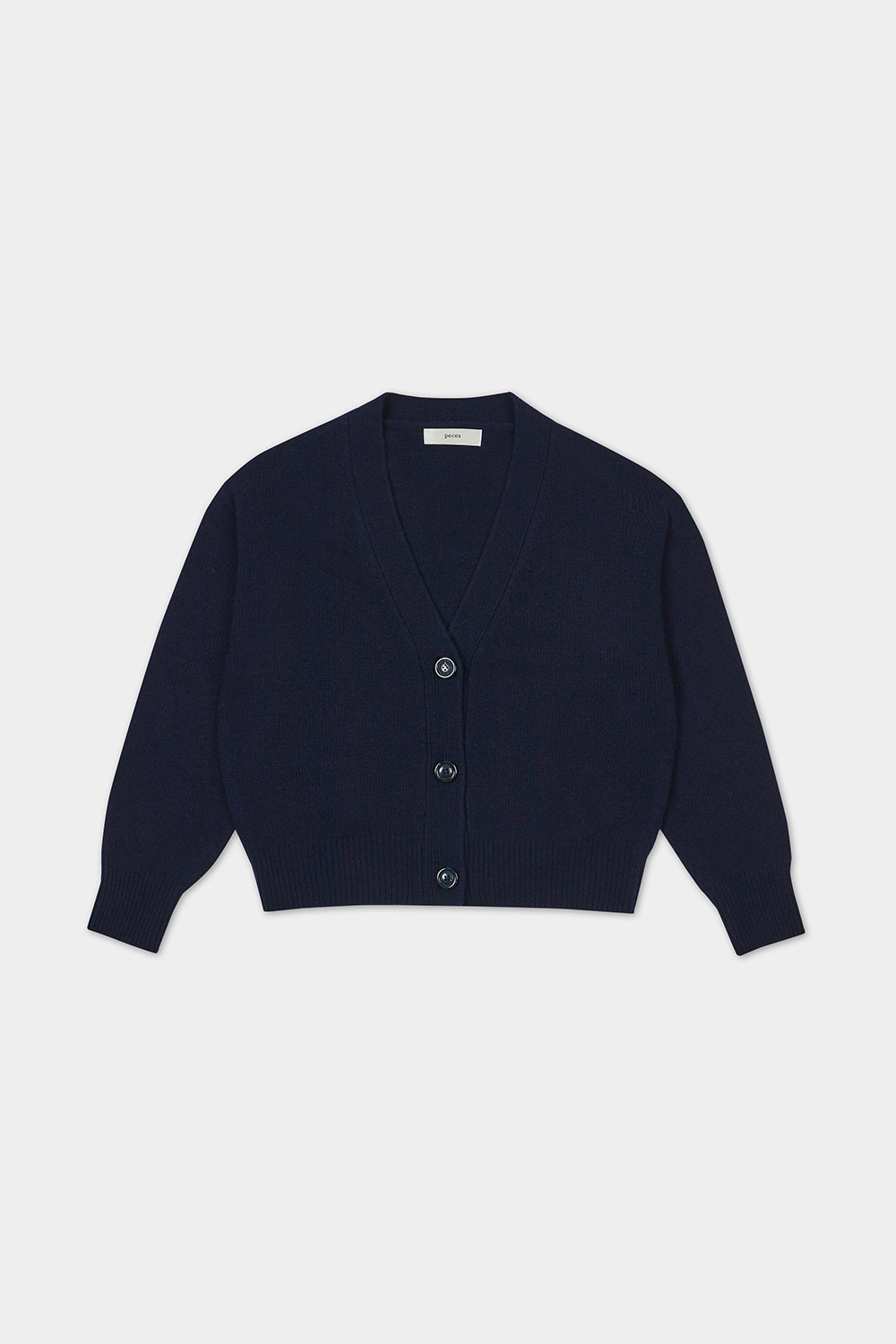 CASHMERE BLENDED CARDIGAN (NAVY)