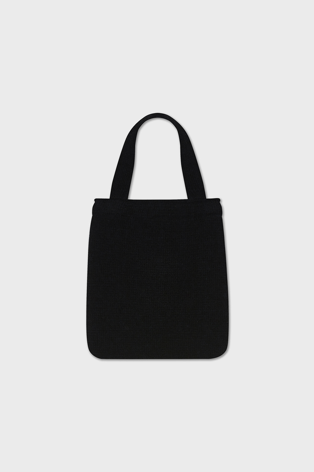 FISH KNIT BAG (BLACK)