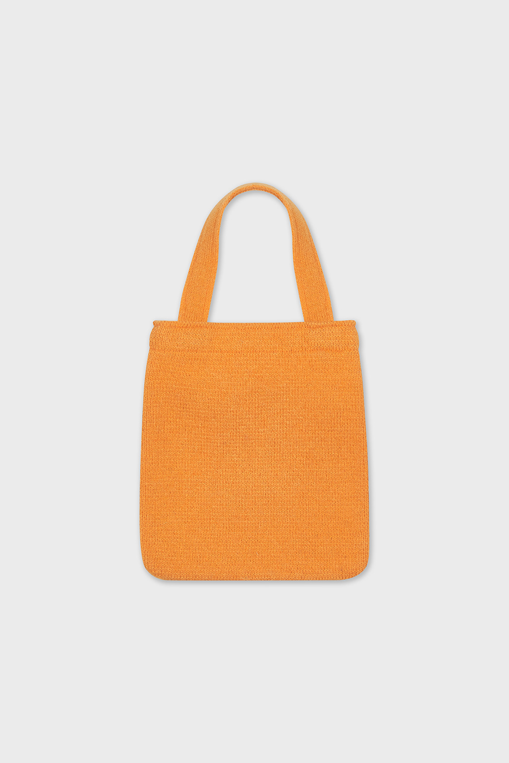 FISH KNIT BAG (ORANGE)