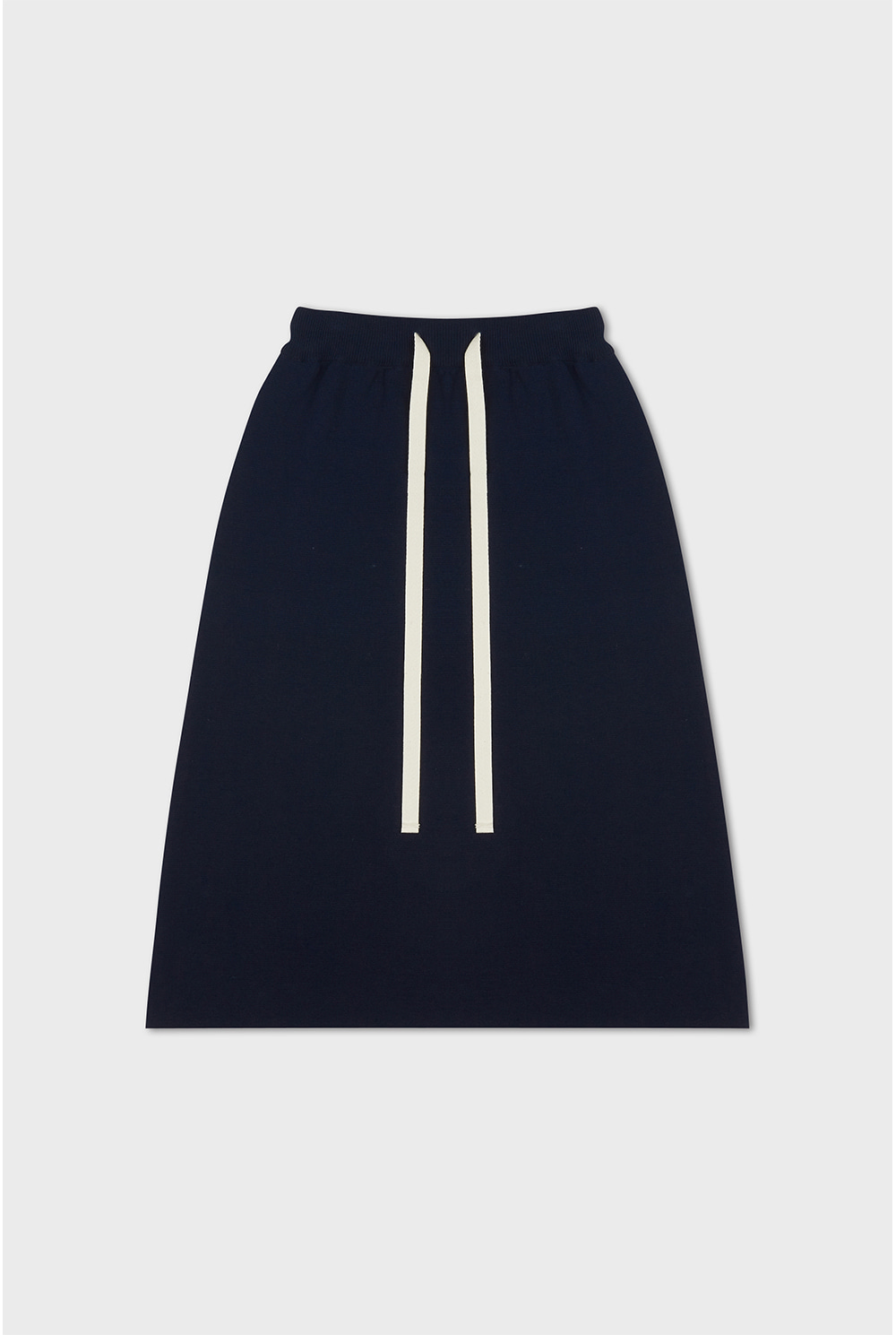 Knitted Sweat Skirt (navy)