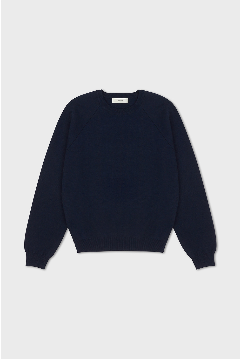 Knitted Sweat Top (navy)