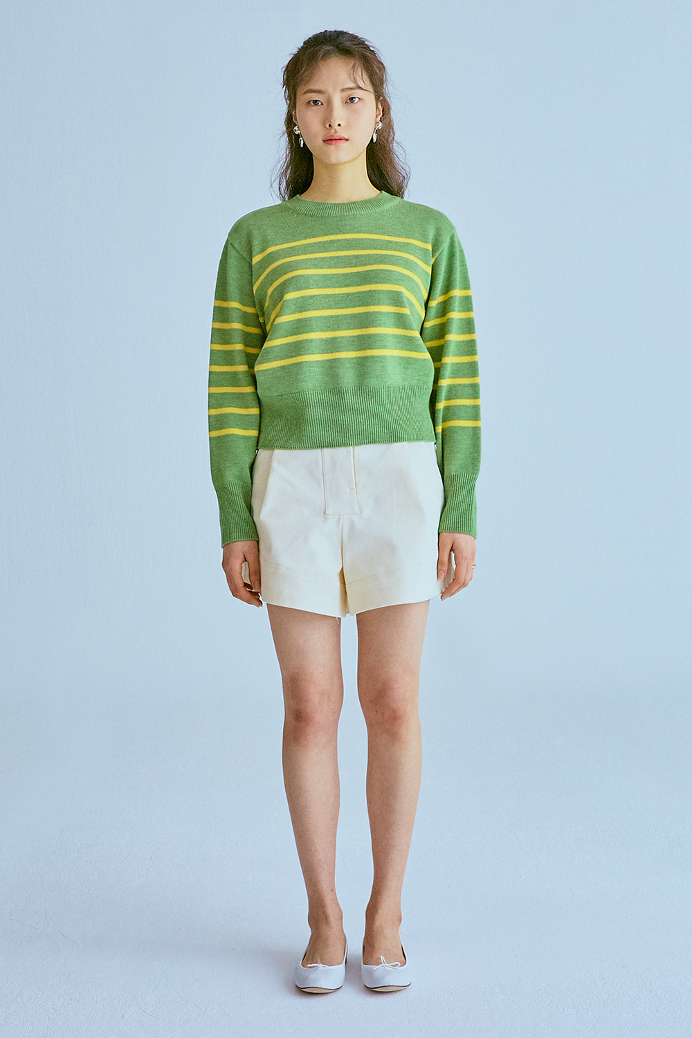 Wool Stripe Knit (2color)