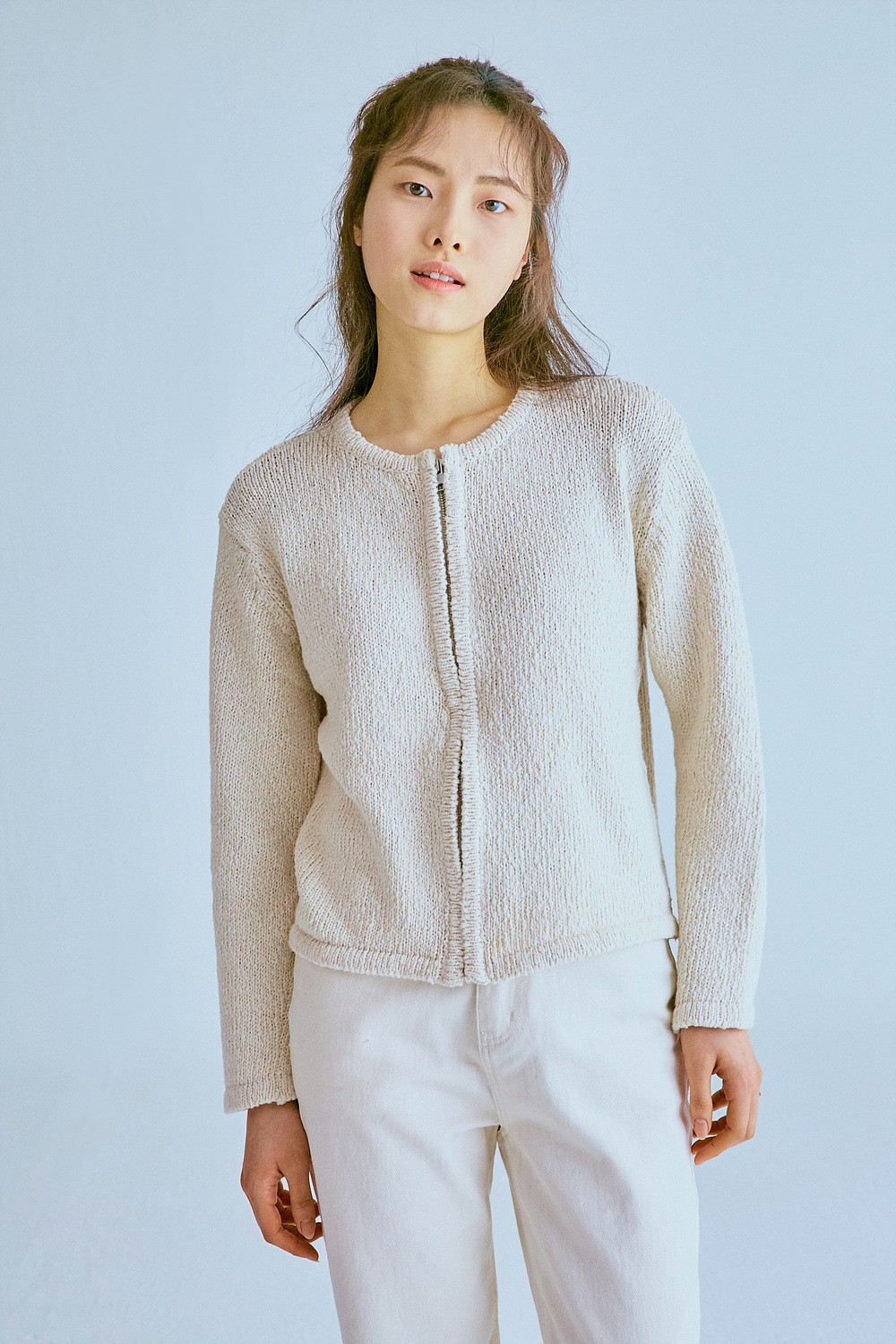NEP COTTON CARDIGAN (2color)