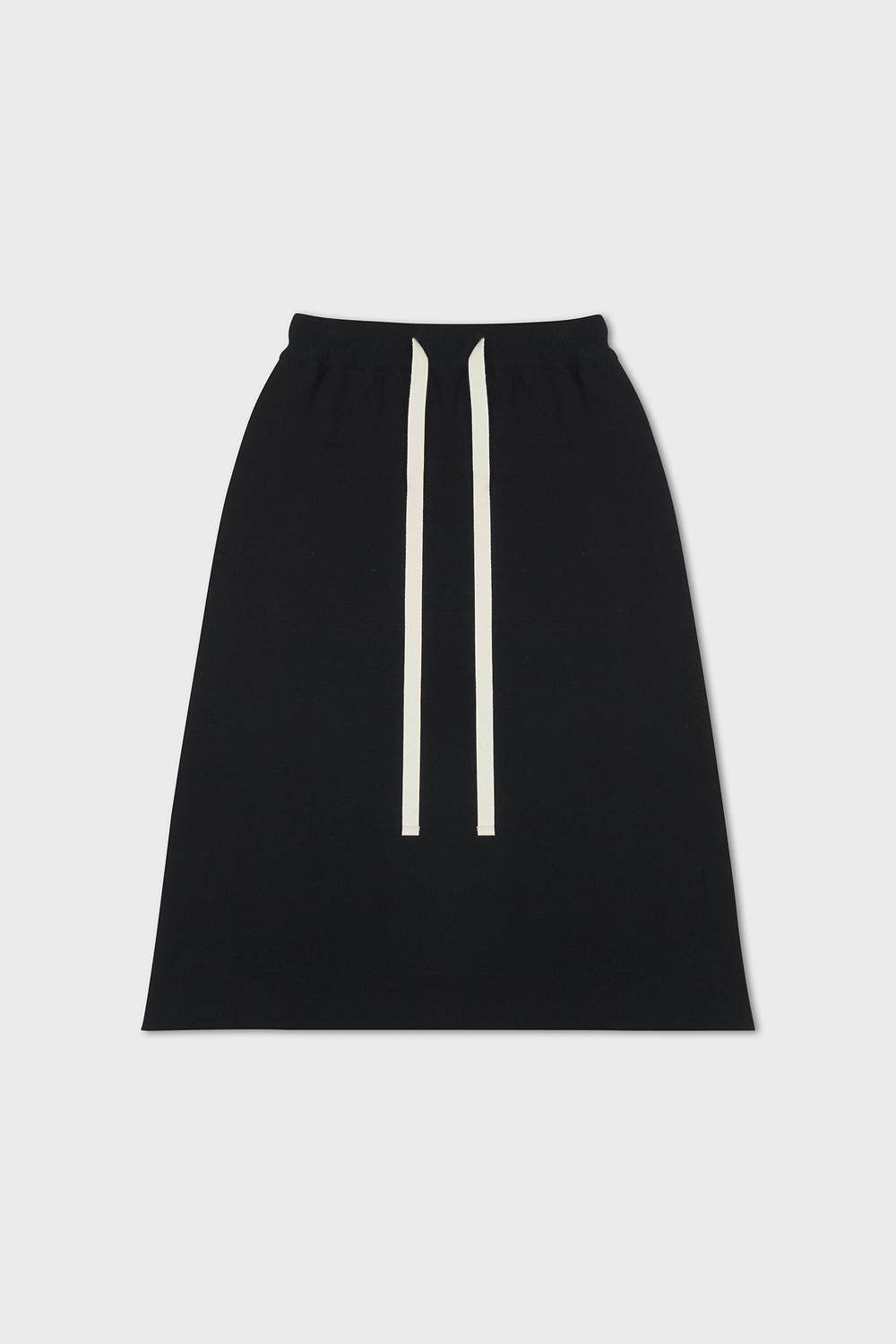 Knitted Sweat Skirt (black)